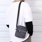 側背包 男包牛津布側背斜背包休閒帆布包男士包包背包小包手機包2020新款 韓國時尚週