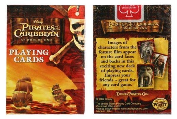 【USPCC 撲克】PIRATES OF THE CARIBBEAN 神鬼奇航 撲克牌(1付裝)