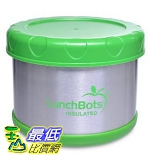 [美國直購] LunchBots Thermal 16-ounce 不銹鋼保溫保鮮盒 Wide Mouth Soup Jar, Lime Green