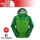 【The North Face 美國 男 DV防水外套《松綠》】CGL3/透氣/防風夾克/機車外套