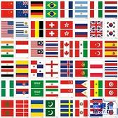 20張|國旗臉貼紋身貼運動會球賽啦啦隊世界杯國旗臉貼【英賽德3C數碼館】