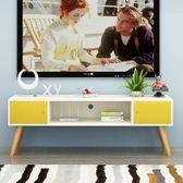 電視櫃 北歐液晶電視櫃簡約現代小戶型多功能客廳儲物櫃臥室電視機櫃地櫃·夏茉生活YTL