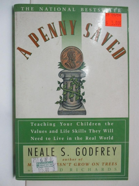 【書寶二手書T1/原文小說_BIQ】A Penny Saved: Teaching Your Children the…
