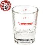 金時代書香咖啡 Tiamo 義式咖啡厚底 玻璃量杯 2oz  HG0130