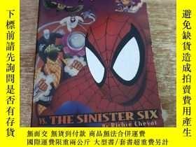 二手書博民逛書店SPIDER罕見MAN VS THE SINISTER SIXY372353