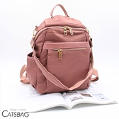 Catsbag 加大款防潑水尼龍兩用後背包媽媽包側背包G1989