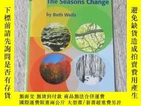 二手書博民逛書店The罕見Swasons Change(Science )Y21