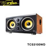T.c.star 連鈺 多功能藍牙/USB 木質金屬拉絲音箱喇叭(木紋) TCS3100WD