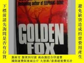 二手書博民逛書店【英語】原版英文小說罕見《 Golden Fox 》 Wilbu