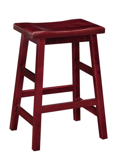【南洋風休閒傢俱】精選造型椅系列 馬鞍高鼓椅 無背餐椅 木質餐椅 (739-9)