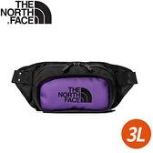 【The North Face EXPLORE HIP PACK 3L腰包《紫》】3KZX/腰包/小包/斜背包/側背包