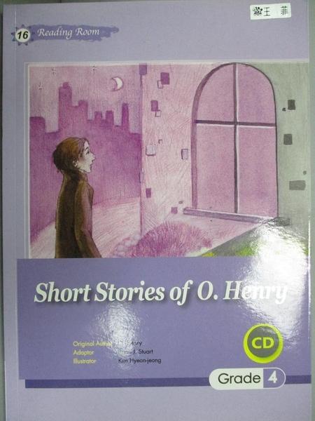 【書寶二手書T5/原文小說_GHM】Short Stories of O. Henry (25K+1CD)_O.Henr