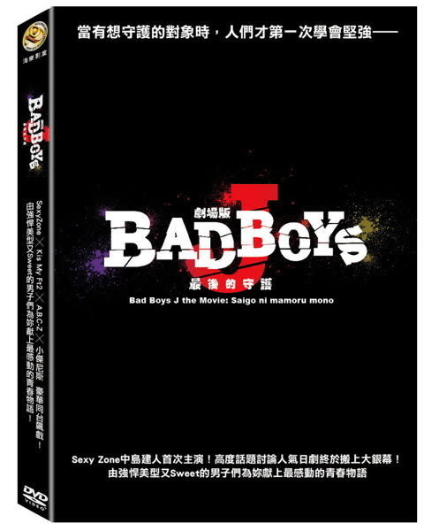 劇場版 Bad Boys J 最後的守護 DVD (購潮8) 4715219793525