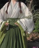 漢服青衫吟原創漢服女【素謀】晉制交領齊腰一片式襦裙4.5米男女款 JUST M