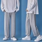 秋季衛褲男直筒寬鬆休閒褲長褲男生褲子韓版百搭潮流快速出貨