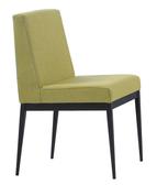 【 IS空間美學】卡特黑腳布餐椅-綠色