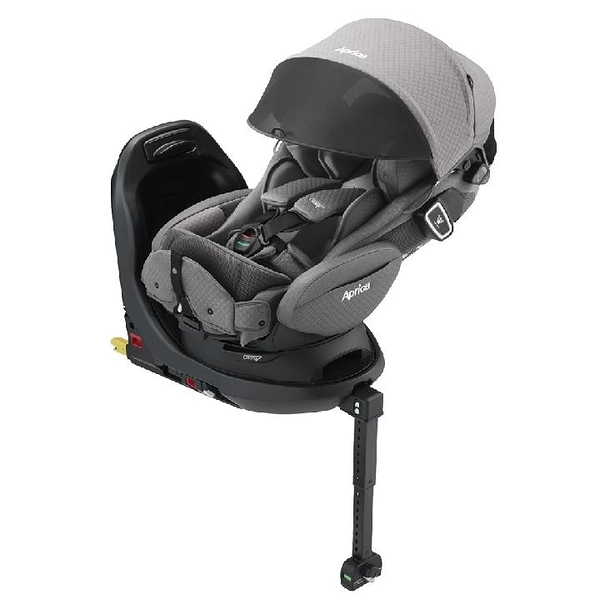 【愛吾兒】Aprica Fladea grow ISOFIX All-around Safety Premium平躺型安全座椅/汽座-花月雪