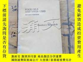 二手書博民逛書店Food罕見oils and their uses. Secon