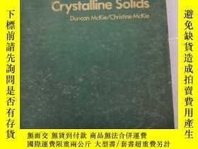 二手書博民逛書店crystalline罕見solids(S255)Y173412