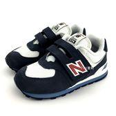小童 New Balance  IV574CN  魔鬼氈 運動鞋 《7+1童鞋》9386 藍色