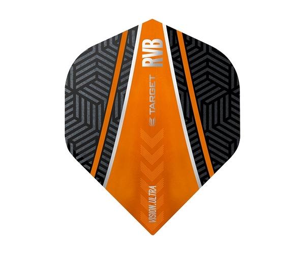 【TARGET】VISION ULTRA STANDARD RVB Curve Black x Orange 332050 鏢翼 DARTS
