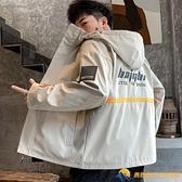 男士棒球服夾克男生工裝外套新款上衣服韓版潮流牌春秋季休閑【勇敢者】