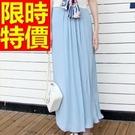 寬管褲長褲流行-知性新品大方復古女褲子61f50【巴黎精品】