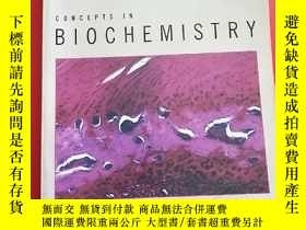 二手書博民逛書店CONCEPTS罕見IN BIOCHEMISTRY THIRD