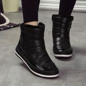 店長推薦▶雪地靴女短筒韓版百搭學生加絨棉鞋加厚防水保暖靴子