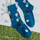 襪子 下雨了氣球中性棉襪   單色-小C館日系