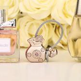 米勒斯金錢袋鑰匙扣女正韓創意汽車鑰匙掛件可愛鑰匙鏈情侶個性 七夕節大促銷