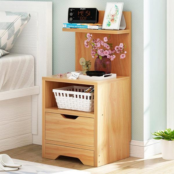 床頭櫃 床邊櫃 簡約 無印日系 床頭收納櫃《YV9228》HpaayLife