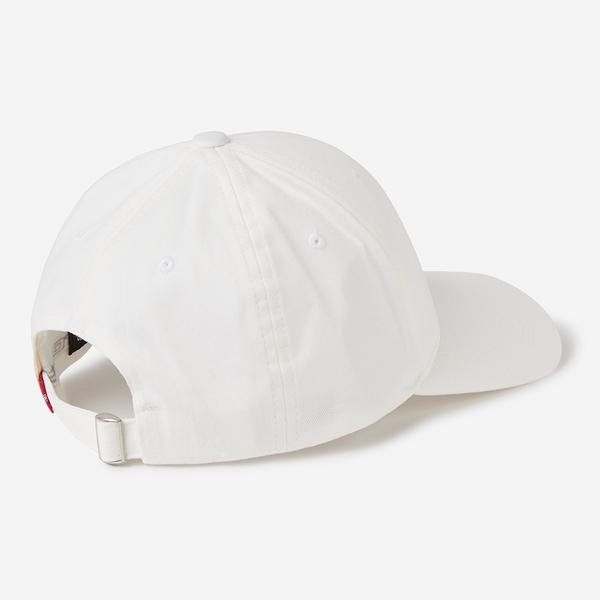 Levis 男女同款 可調式環釦棒球帽 / 經典Logo 刺繡 / FLEXFIT 110