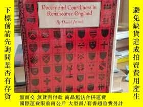 二手書博民逛書店Poetry罕見and Courtliness in Renai