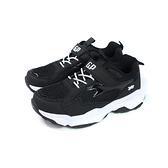 G.P(GOLD PIGEON) 運動鞋 黑色 魔鬼氈 大童 童鞋 P6932B-10 no121 20~23cm