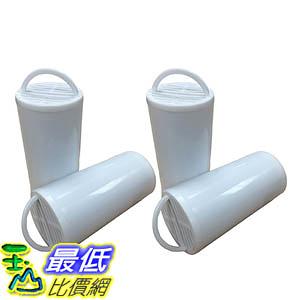 [106美國直購] 4 Drinkwell Compatible Replacement Premium Charcoal Filters, Premium Filtration 360 Pet Fountains