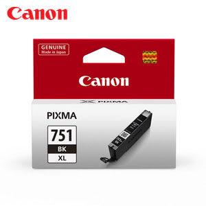 Canon CLI-751BK XL原廠高容量墨水匣 (黑)