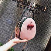 小包包正韓撞色側背包正韓簡約少女百搭迷你手機包 『米菲良品』