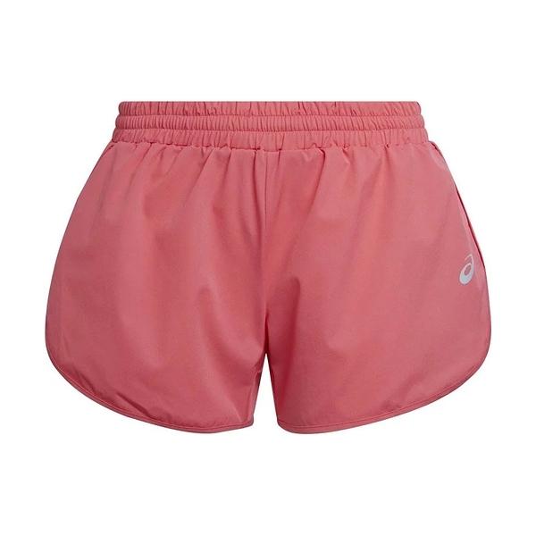 Asics Luminous 3.5吋 [2012B510-700] 女 跑步 短褲 運動 休閒 單層 夜光 亞洲版 粉
