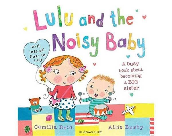 Lulu's And The Noisy Baby Lulu和吵鬧的弟弟 平裝本操作書