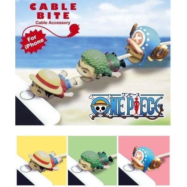 海賊王 CABLE BITE 手機保護套 iphone充電線 保護線套 防斷保護套 ONE PIECE 航海王 魯夫 索隆 喬巴