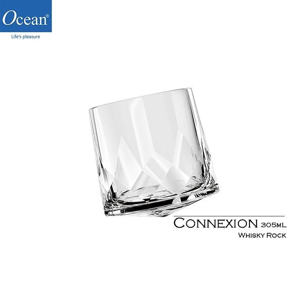 泰國 Ocean Connexion系列 Whisky Rock 305mL 旋轉威杯 酒杯 威士忌杯 雞尾酒杯 轉杯