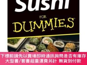 二手書博民逛書店Sushi罕見For Dummies[生魚片冷飯團概述]Y454646 Judi Strada 著 Wile