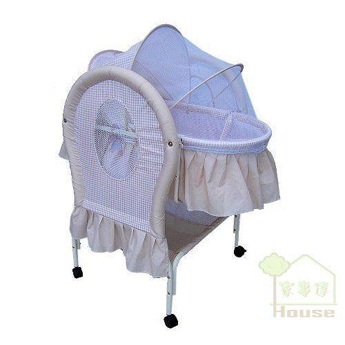 [ 家事達 ]Mother's Love -BC-291 嬰兒平搖提籃嬰兒床--咖啡色 特價