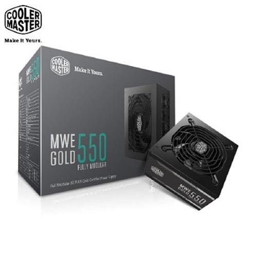 Cooler Master MWE 全模組化 80Plus金牌 550W 電源供應器