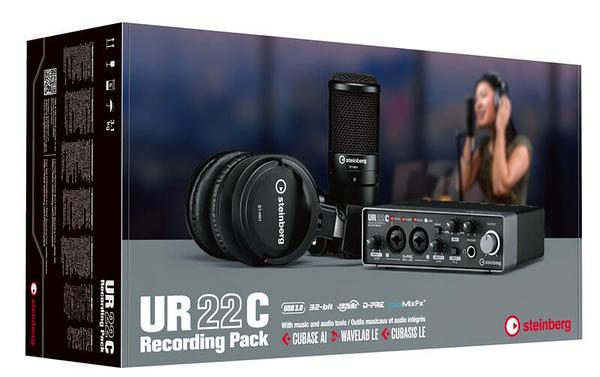 凱傑樂器 Steinberg UR22C Recording Pack 錄音介面套裝組合