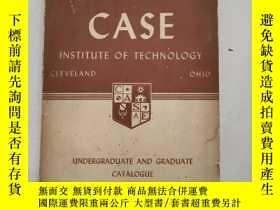 二手書博民逛書店CASE:罕見INSTITUTE OF TECHNOLOGY(案例:理工學院)沒勾畫Y6318 Clevela