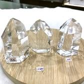 『晶鑽水晶』巴西天然白水晶柱 約60x38mm 超白亮透 避邪擋煞 帶來正能量 鎮宅 擺件 書桌 辦公桌