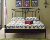 【新北大】✪ R77-2 芭特黑色5尺鐵床檯(不含床墊) -18購