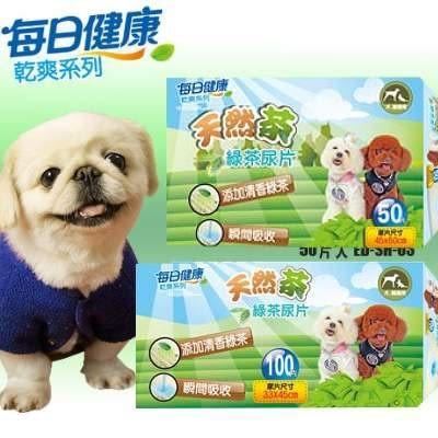 【培菓幸福寵物專營店】每日健康》天然茶綠茶抗菌尿片尿布(1包)吸水力佳(另有6包免運賣場)
